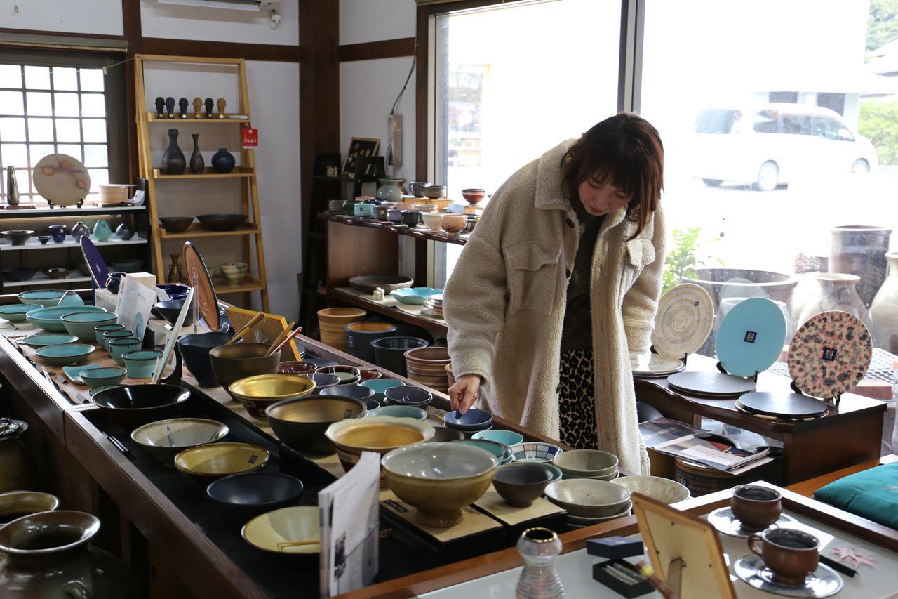画像2: 【1日目】旅の思い出を形にして。『大谷焼 元山窯』で陶芸体験