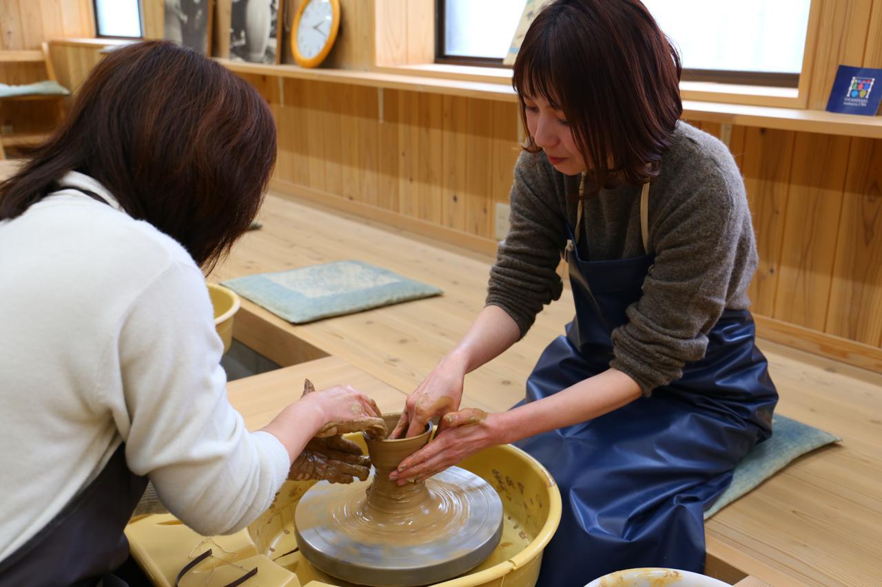 画像4: 【1日目】旅の思い出を形にして。『大谷焼 元山窯』で陶芸体験