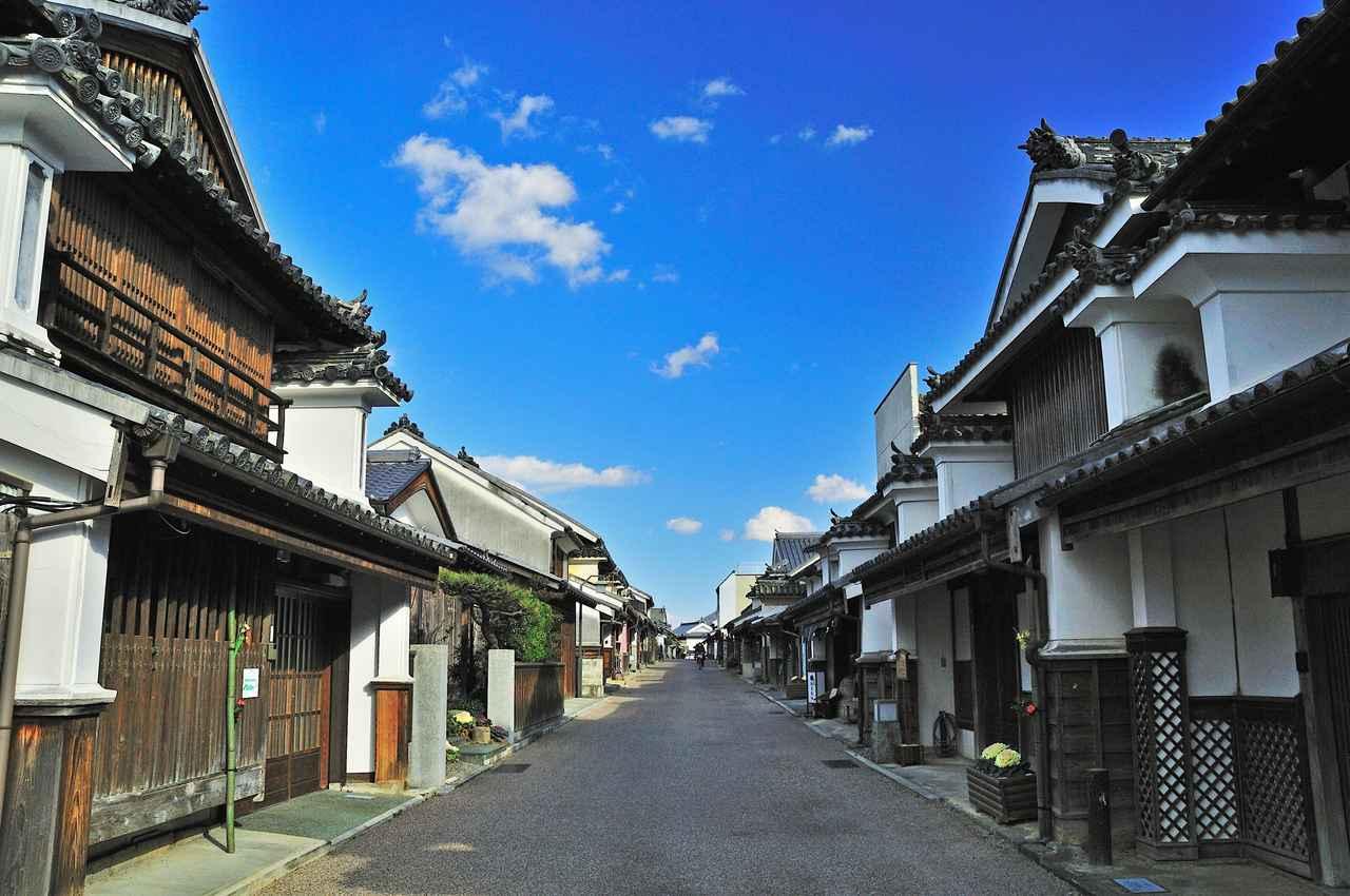 画像1: 江戸時代の風情が残る『うだつの町並み』は見ごたえあり