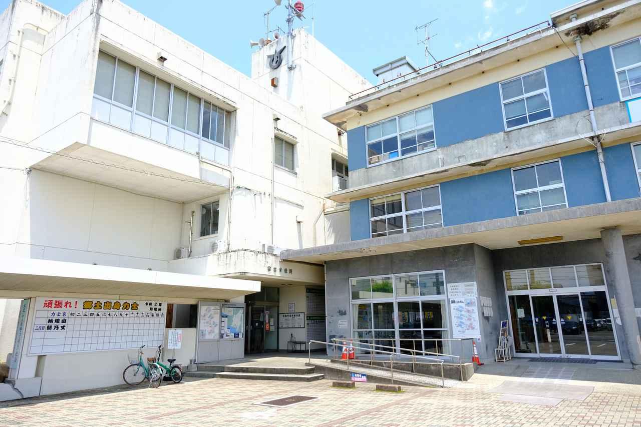 画像: キッチンココは安芸市役所の地下にあります。駅からも徒歩5分程度です。