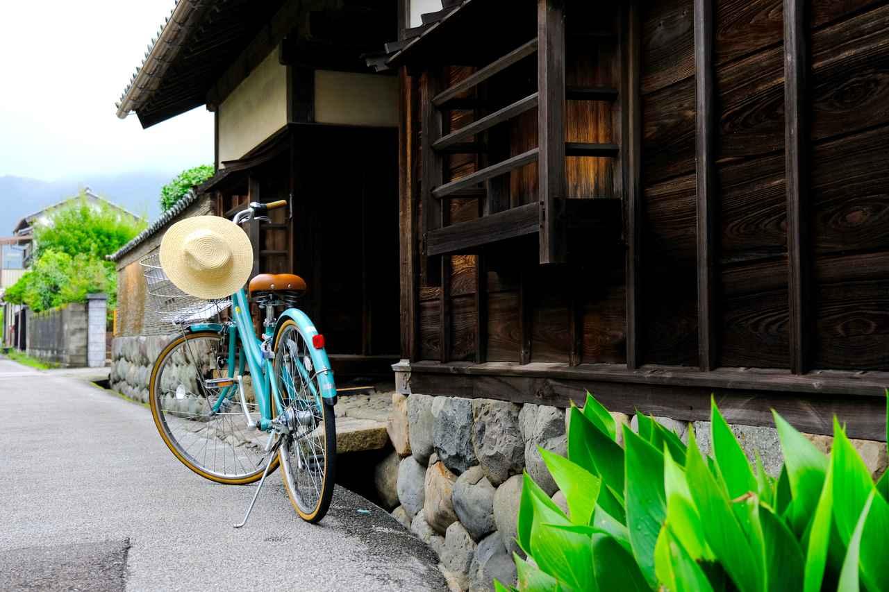 画像: 安芸市ぢばさん市場で自転車を借りて、さっそく安芸市を観光します。