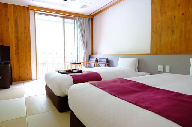 画像: 部屋は全てリバービュー。全14部屋で、お風呂付の部屋も3つあります。