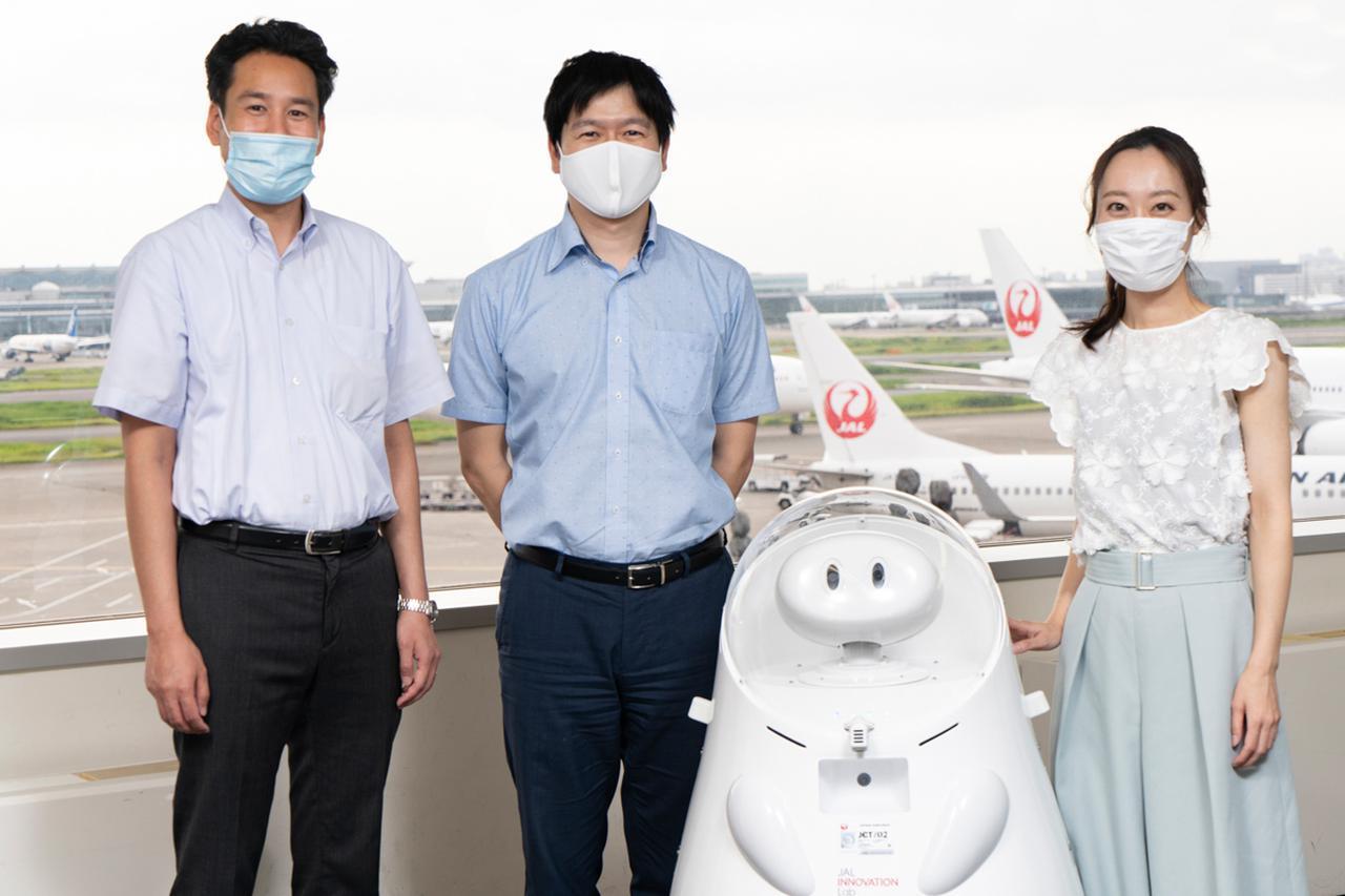 画像1: 自宅からリモート操作も。JALのお客さま対応ロボット「JET」開発秘話