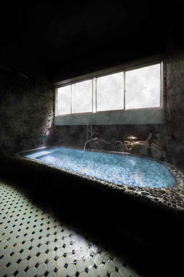 画像: 「とらや旅館」の湯