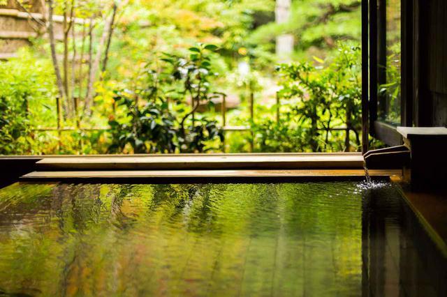画像: お風呂とランチを満喫できる、日本三大美人湯「湯の川温泉 湯宿 草菴」