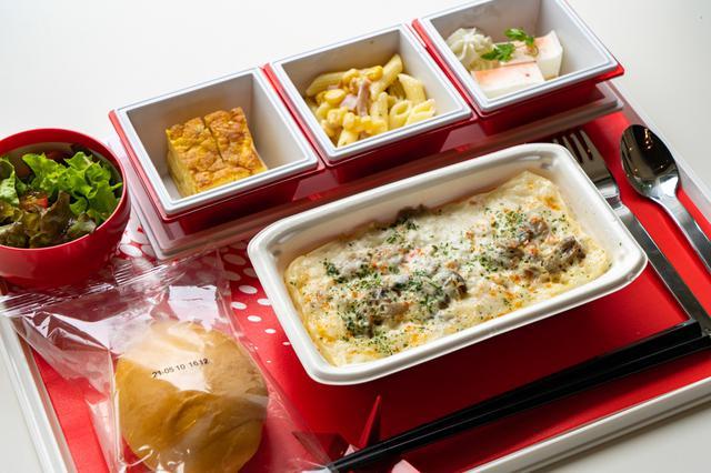 画像3: フライト気分が味わえる機内食に、オリジナル焼酎