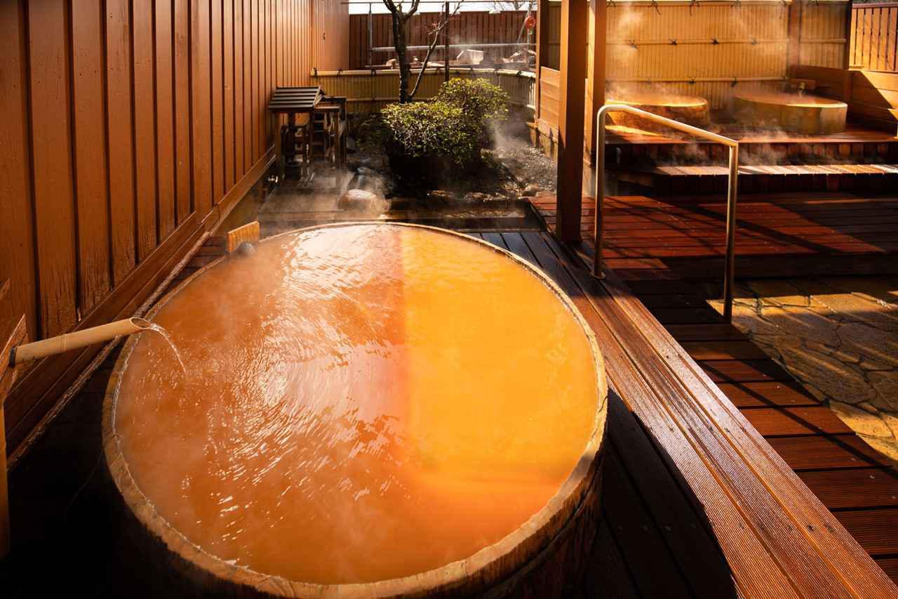 画像: 三瓶温泉「さんべ荘」の湯