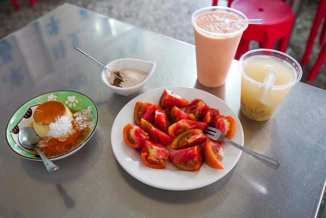 画像: 嘉義:トマトの概念を覆す「嘉義七彩冰果室」の砂糖がけトマト
