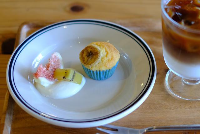 画像: お手製カップケーキのデザートまでついて幸せなランチでした。