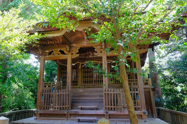 画像: 国の重要文化財となっている社殿。安土桃山時代に豊臣秀頼の命で建てられたもの。