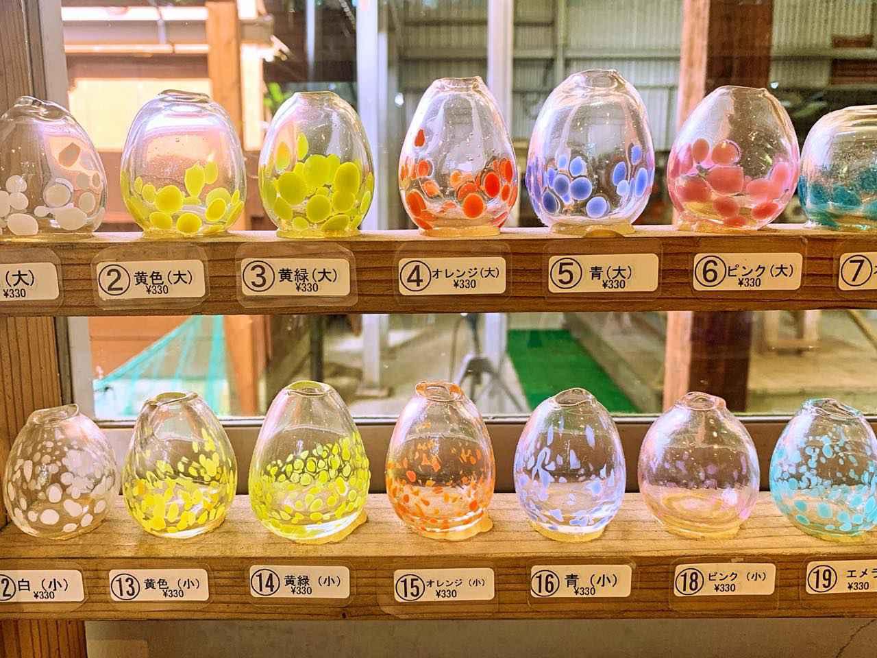 画像1: 琉球ガラスで沖縄を届ける、「グラスアート藍」
