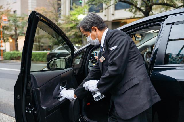 画像: ドライバーの手洗い、うがい、検温といった基本的な感染防止対策はもちろん、車両の消毒をこまめに行なっています