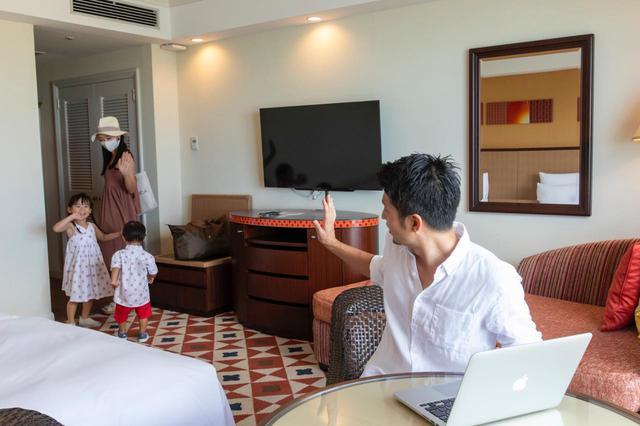 画像9: オーシャンビューを楽しみながらリゾートテレワーク ホテル日航アリビラ