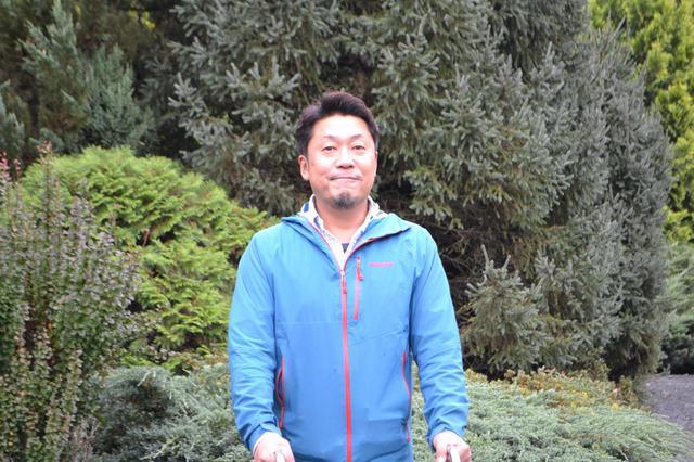 画像: 真鍋庭園三代目の眞鍋憲太郎さん