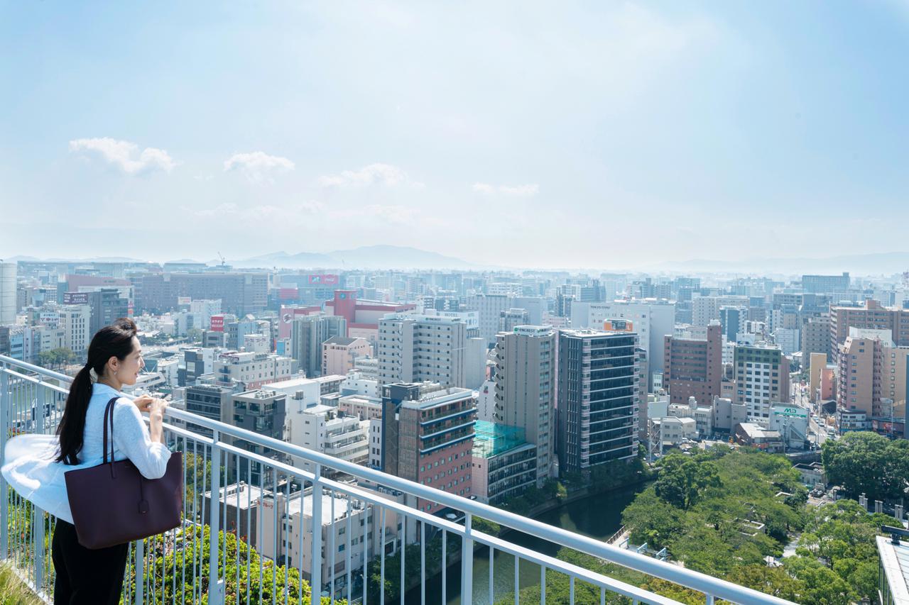 """画像8: ゆっくりスタートの2日目は、街歩きへ fabbit Global Gateway """"ACROS Fukuoka"""""""