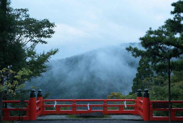 画像: 翔雲台は、比叡山を望むベストポジション