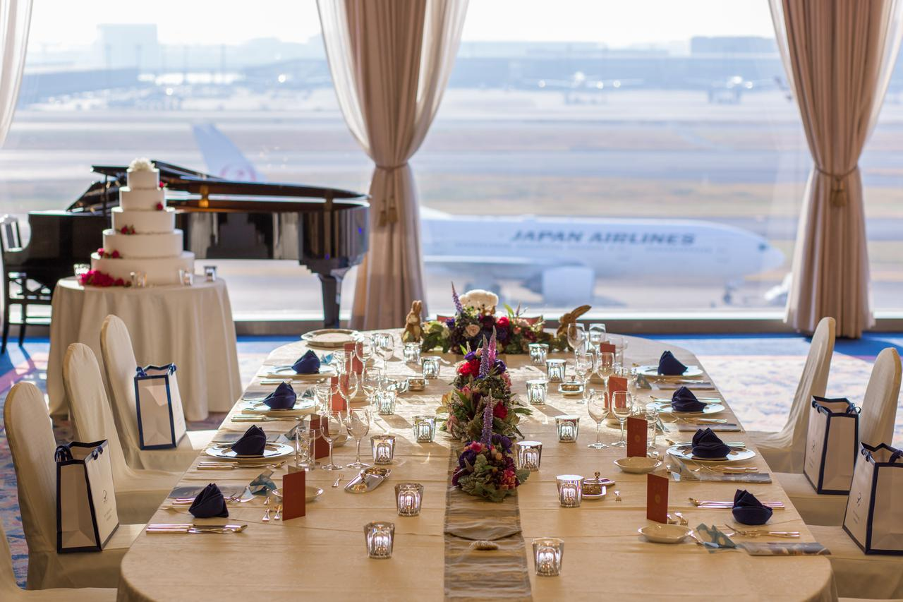 画像2: 羽田空港雑学File 5 羽田空港では結婚式が挙げられます