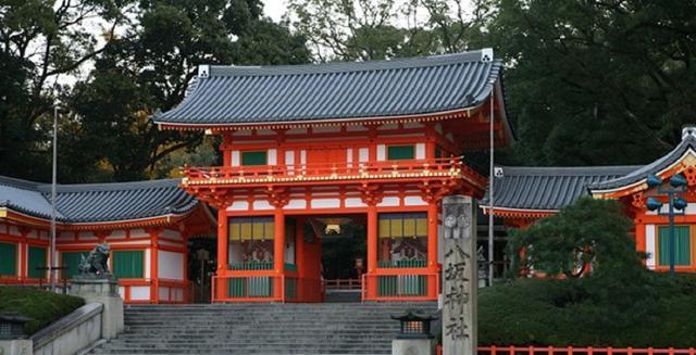 画像: 八坂神社西楼門(重要文化財)