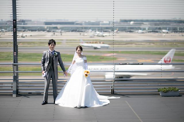 画像1: 羽田空港雑学File 5 羽田空港では結婚式が挙げられます