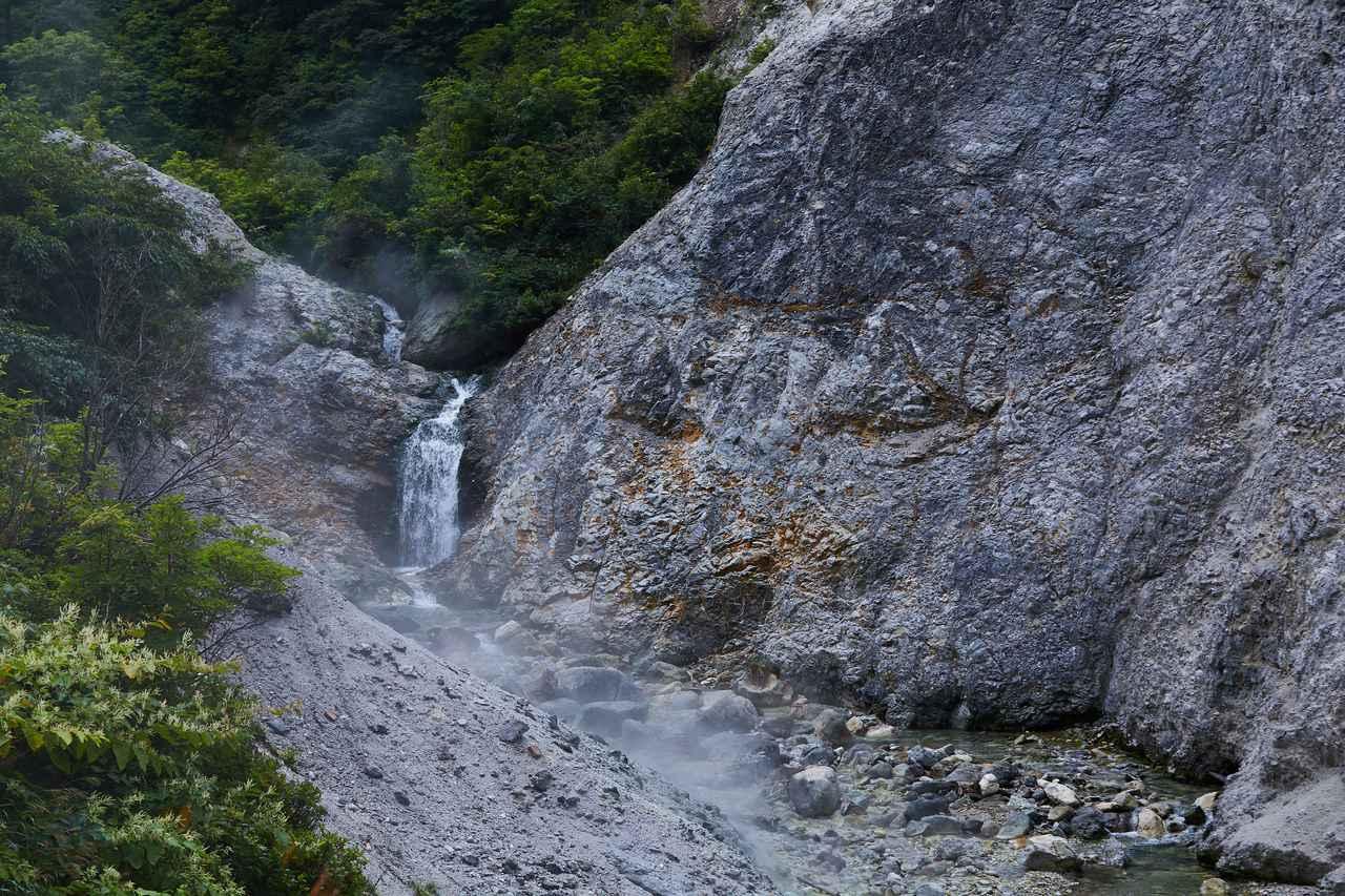 画像: 大湯滝の源泉