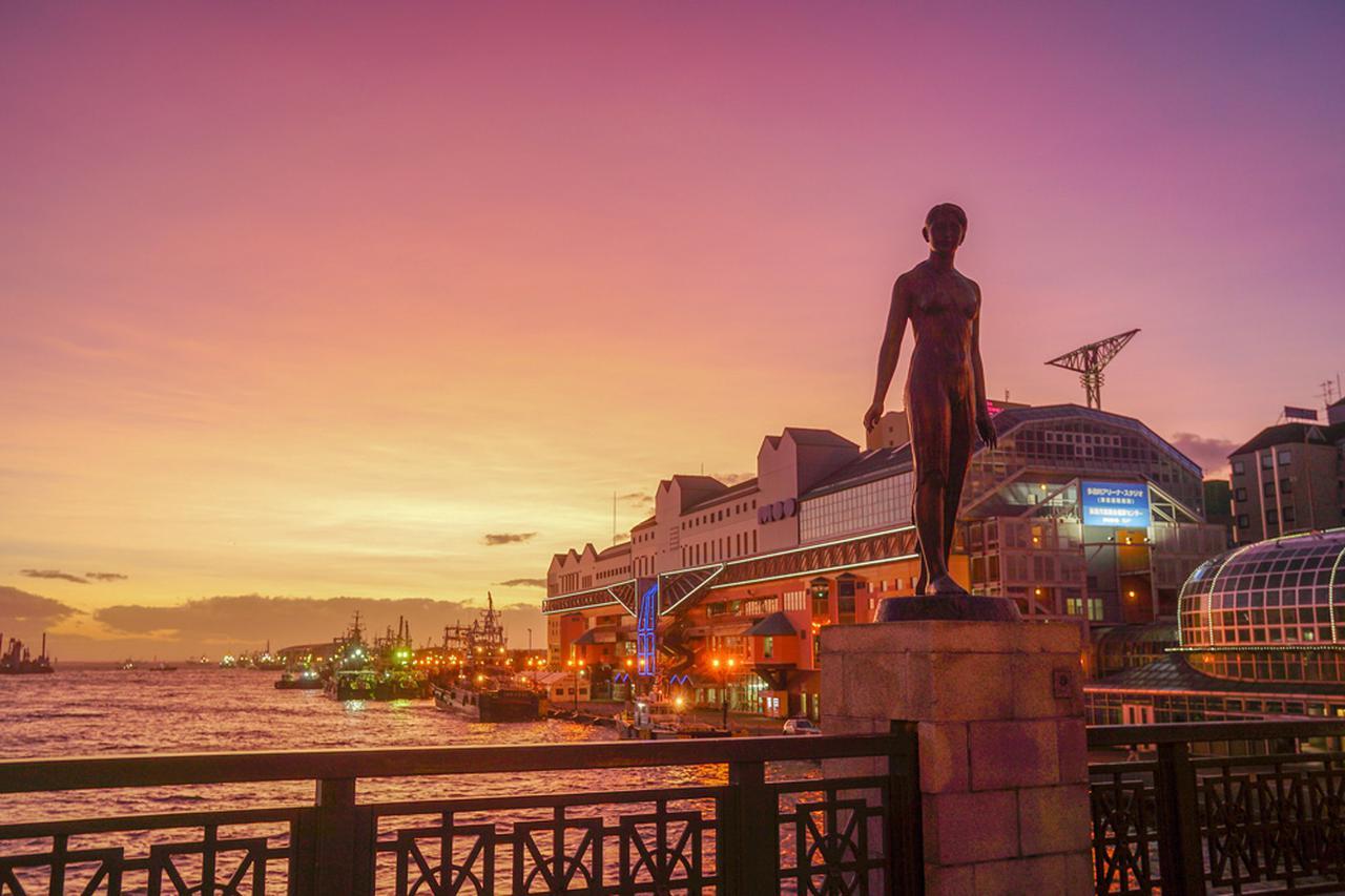画像2: 美しいオレンジ色に染まる世界三大夕日「釧路港の夕日」