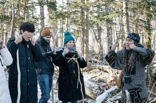 画像1: 森・湖・ものづくりで体験する「アイヌ文化ガイド」