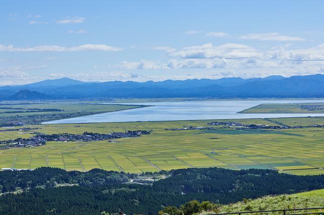 画像: 東側の景色