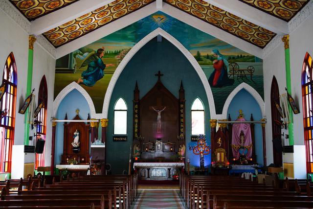 画像1: 中国式の建築が取り入れられた珍しい教会 聖母升天堂