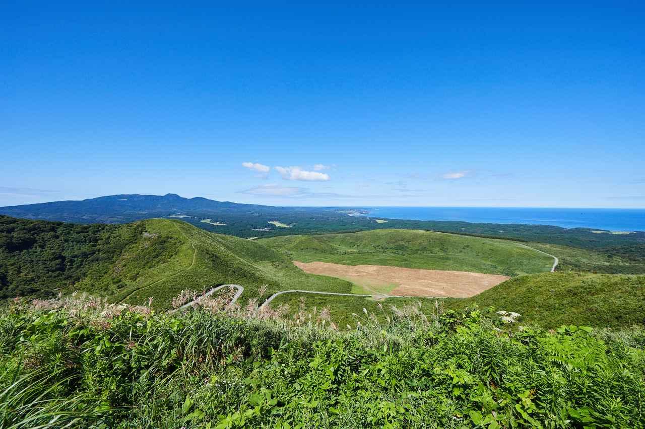 画像: 西側の景色