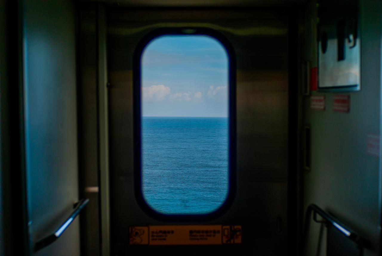 画像1: 台東らしい景色が楽しめる 台湾鉄路の車窓から見える景色(台東駅~金崙駅)