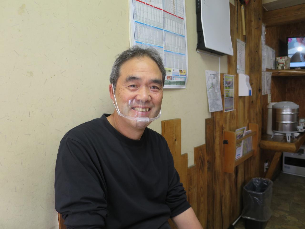 画像: ご主人の守 正三さん。札幌など各地で働いたのち、地元に戻った
