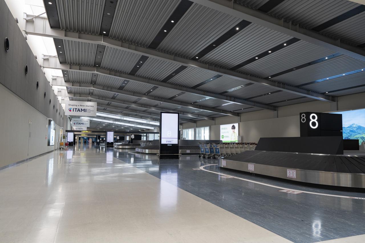 画像1: ご到着時の印象は、まるで海外の国際空港と思われるかもしれません