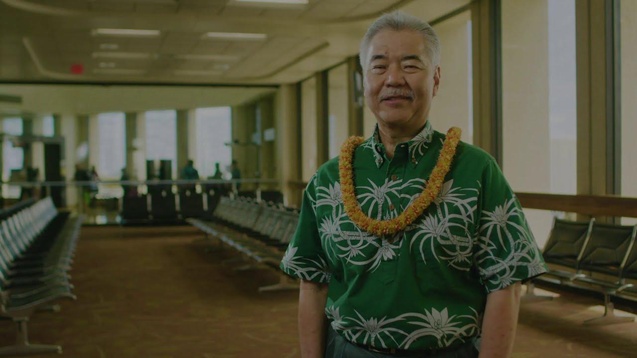 画像1: ハワイ州知事デイビッド・イゲからのメッセージ youtu.be