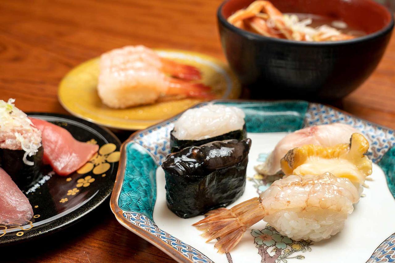 画像: 金沢は回転寿司がおいしい。秋の海鮮、食べ歩きの旅