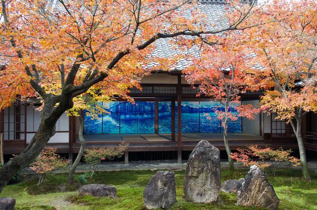 画像: 大書院から庭越しに望む小書院