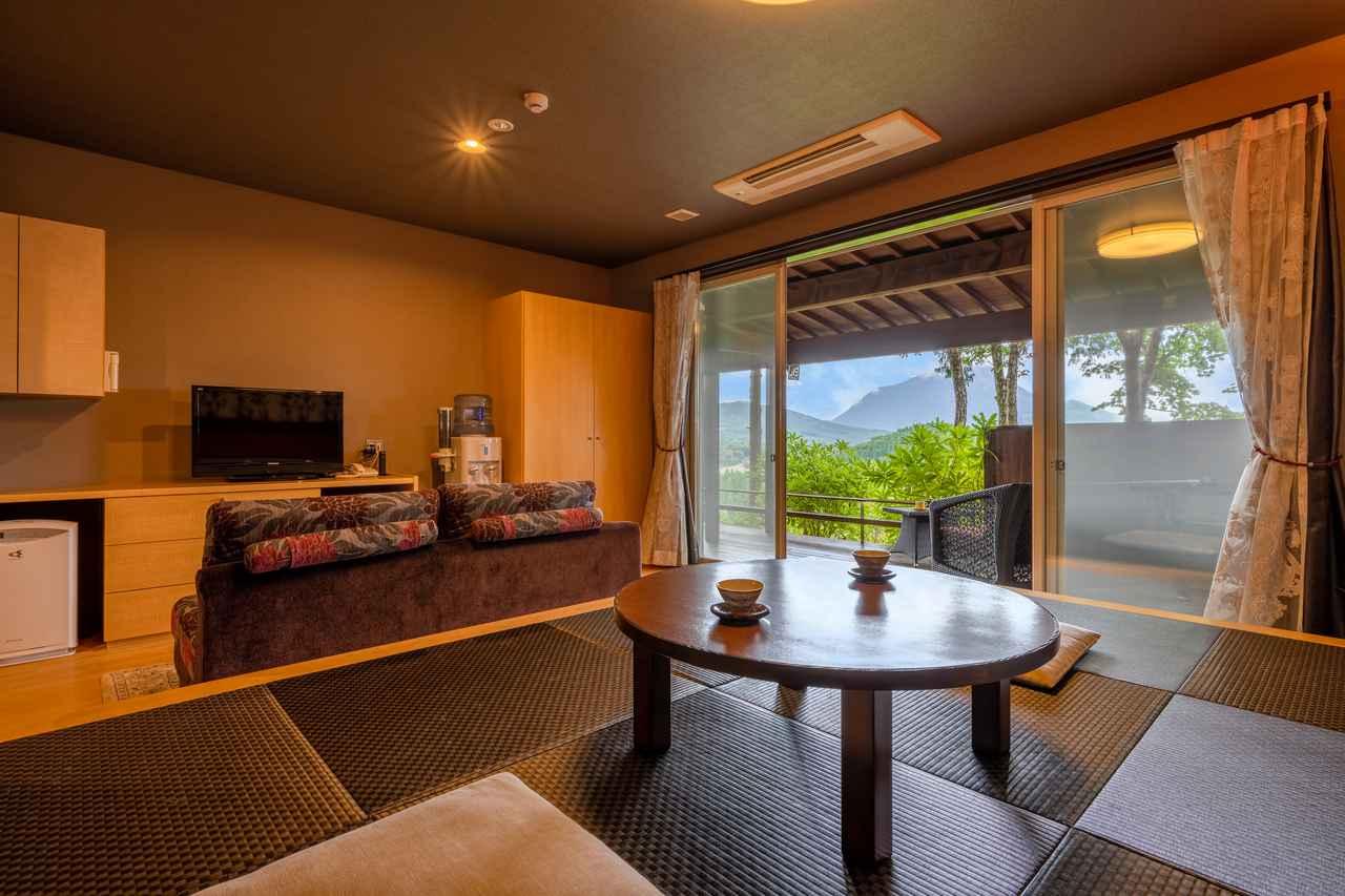 画像3: 【大分】由布岳を望むフォレストリゾートで、美肌の湯と和牛懐石を堪能