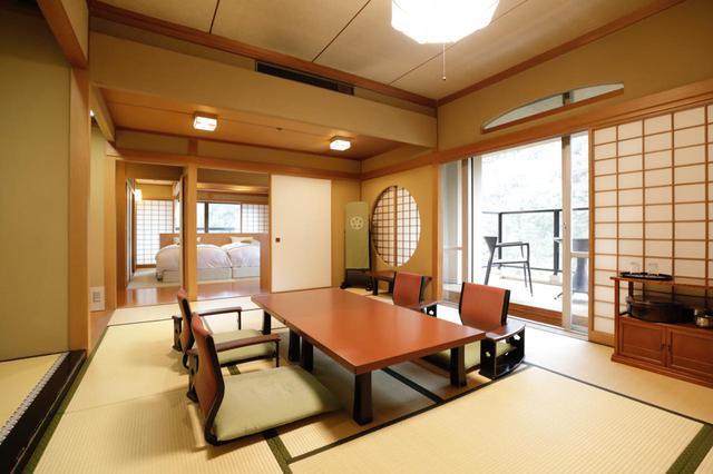 画像3: 【神奈川】奥湯河原の渓谷にたたずむ老舗の料亭旅館