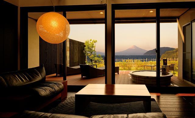画像5: 【静岡】洋上に浮かぶ富士山を露天風呂から愛でる感動体験