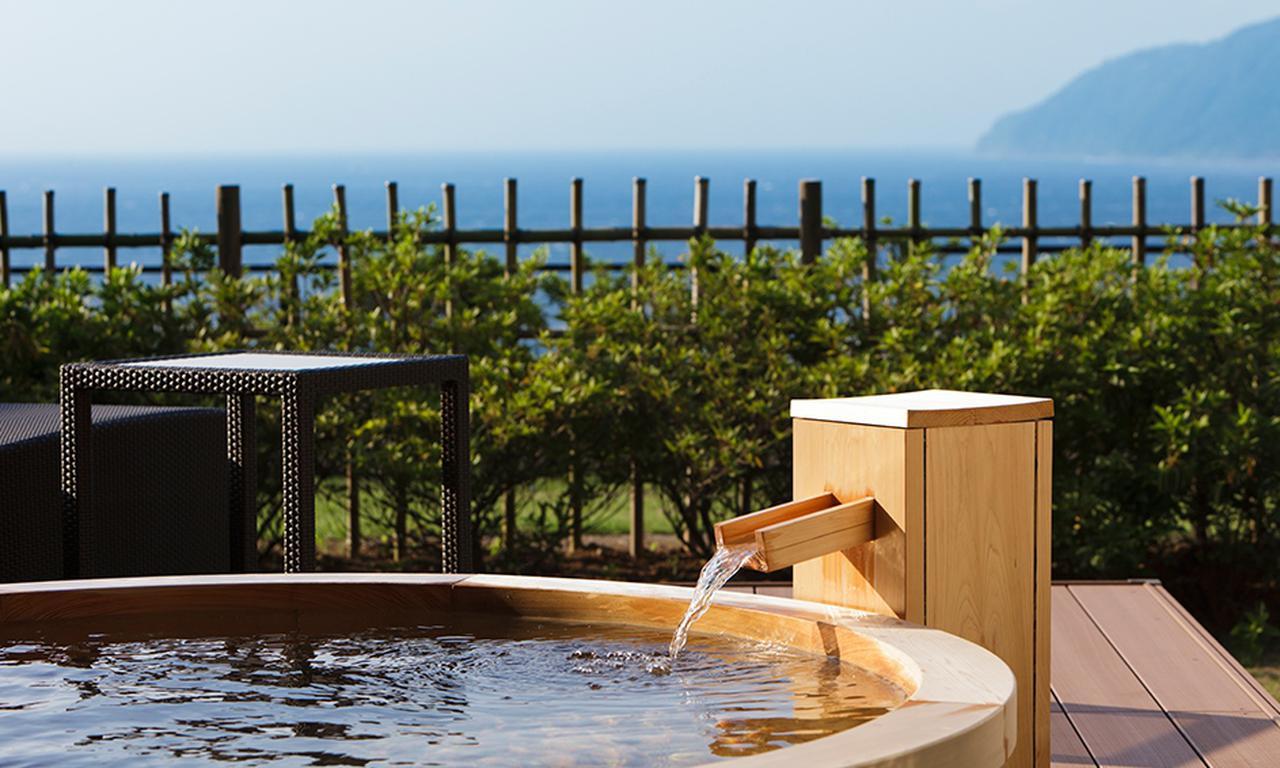 画像4: 【静岡】洋上に浮かぶ富士山を露天風呂から愛でる感動体験