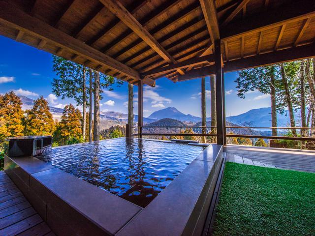画像2: 【大分】由布岳を望むフォレストリゾートで、美肌の湯と和牛懐石を堪能