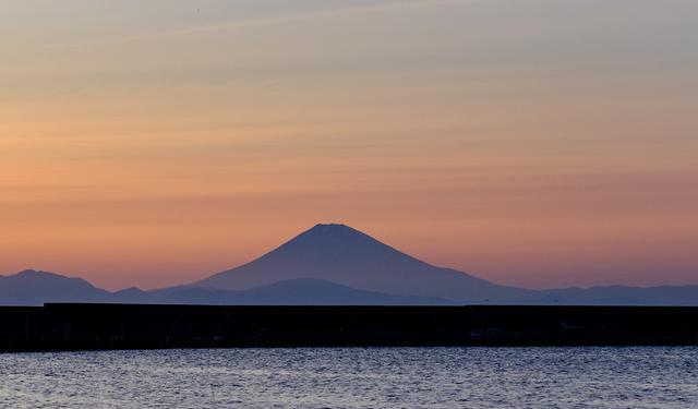画像: 富士山もきれいに見えました。