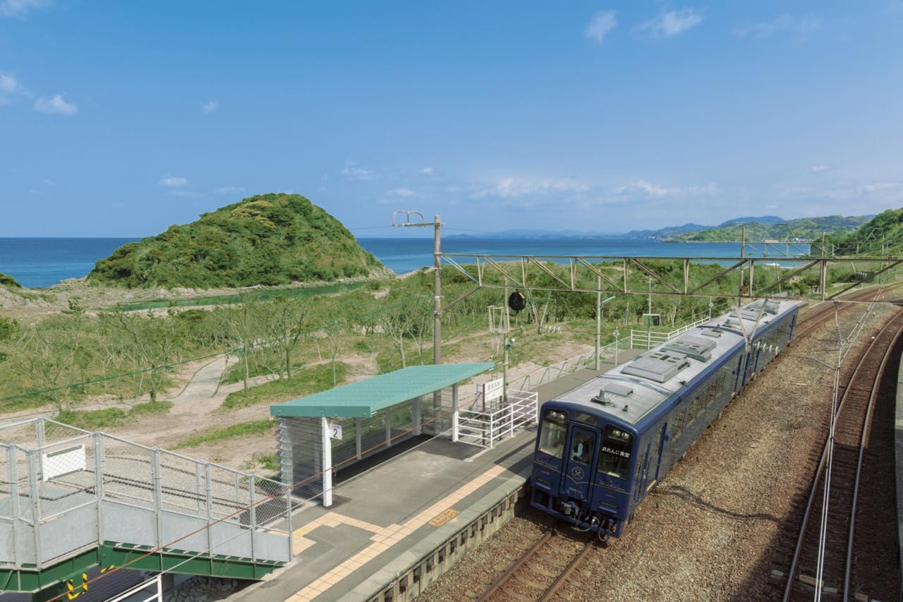 画像: 薩摩高城(さつまたき)駅 (肥薩おれんじ鉄道提供)