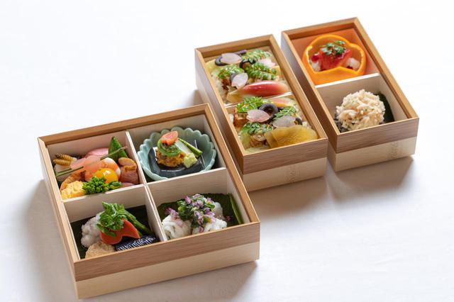 画像: 日曜日ルート 「日本料理 筑紫亭」による、中津の特産である豊前海で育った鱧(はも)と自然豊かな大分の旬の食材を使った料理