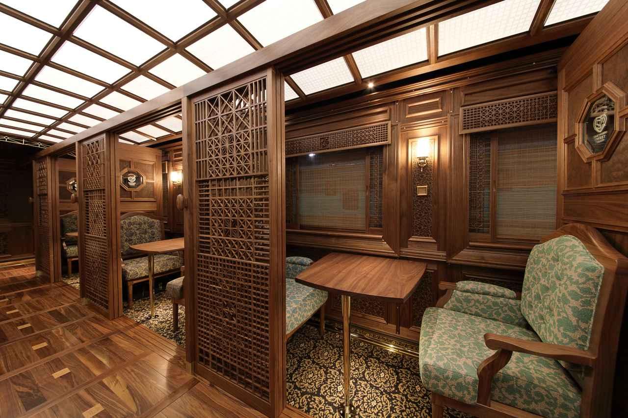 画像6: 豪華な列車内で九州の美食と絶景を堪能。個性溢れる3つの観光列車旅