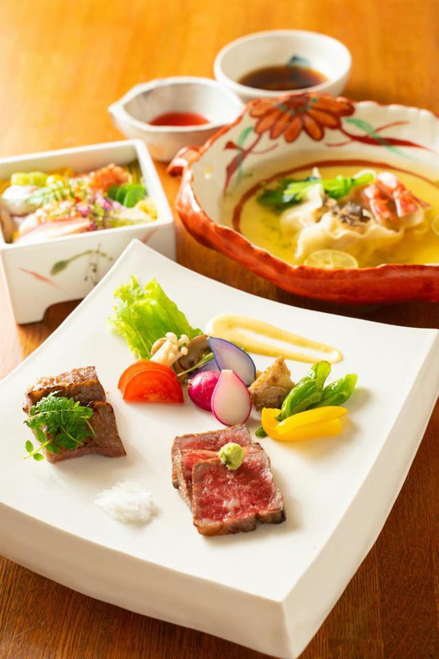 画像3: 熟練の技に新感覚のエッセンスを追加。日本料理の粋を味わう