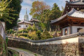 寺院と教会の見える風景 (ジイントキョウカイノミエルフウケイ)