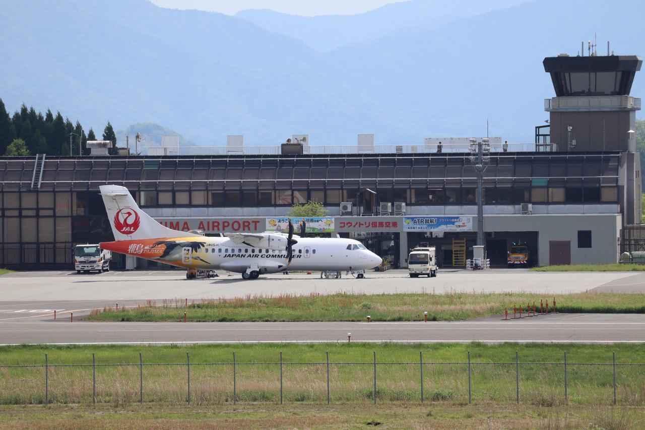 画像: コウノトリ但馬空港から羽田までは、最短約2時間で移動可能