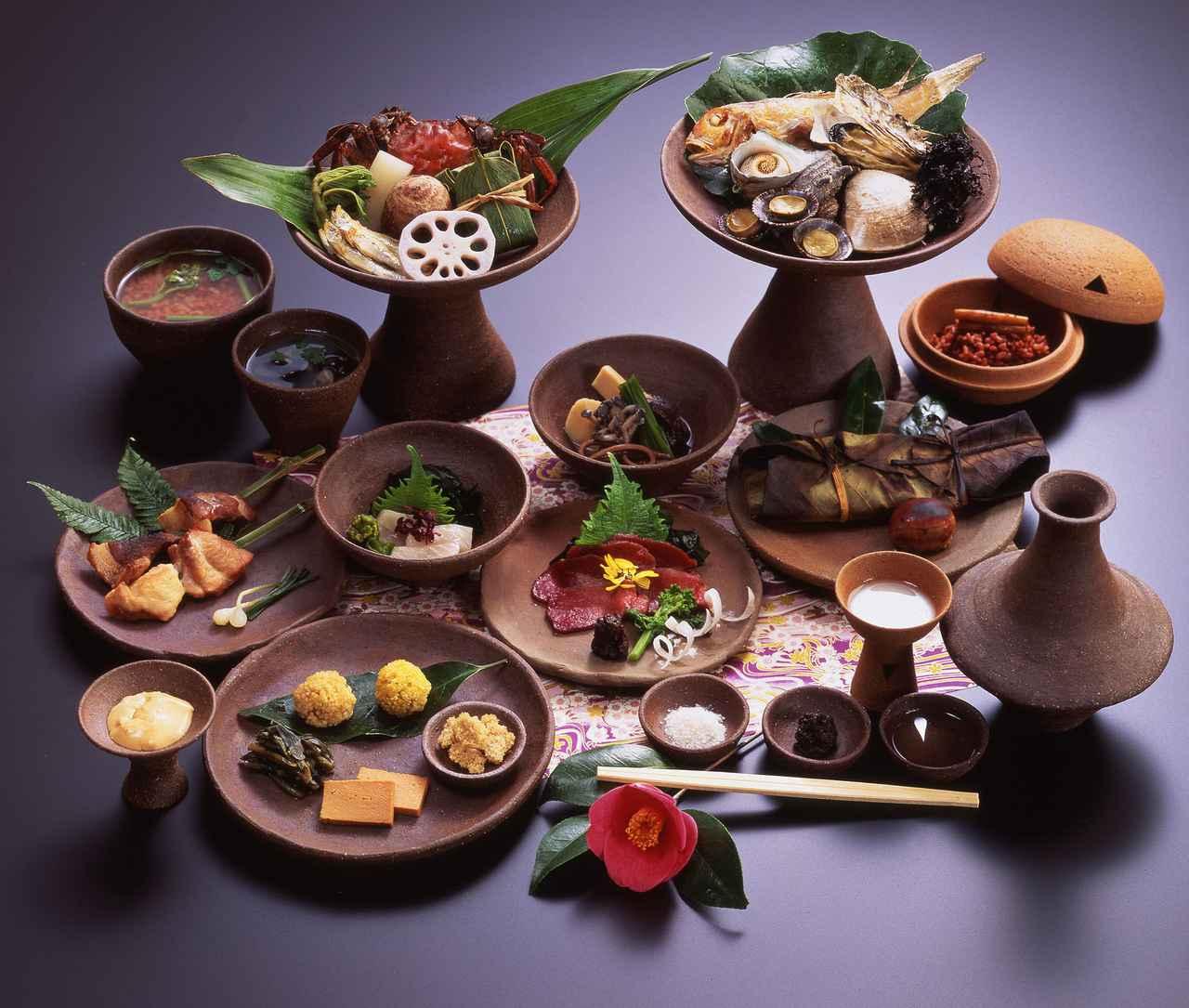 画像2: 【縄文~弥生】古代の王族気分で「ひえ」や「あわ」、「そ」などの古代食を味わえる「松園」
