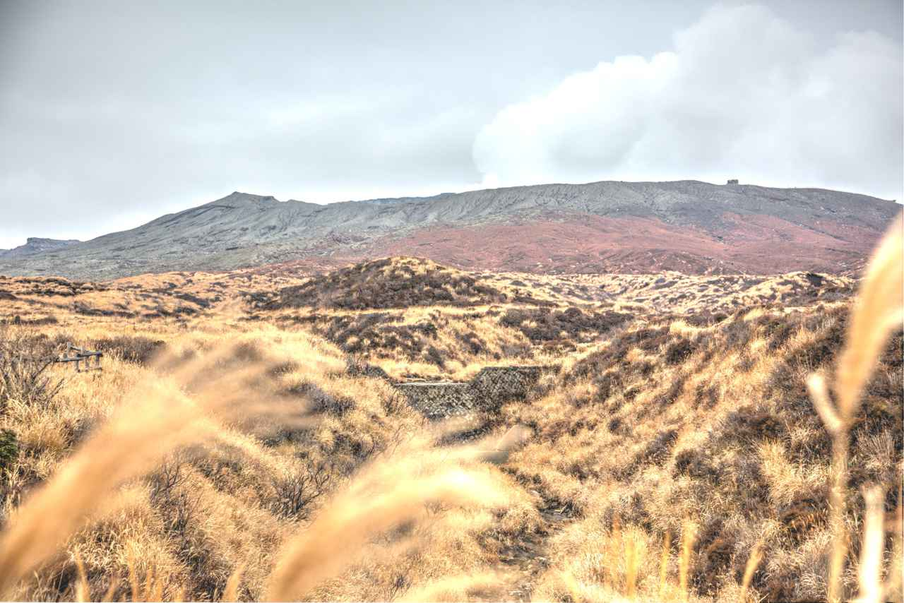 画像2: やまなみハイウェイ・ミルクロード・中岳火口