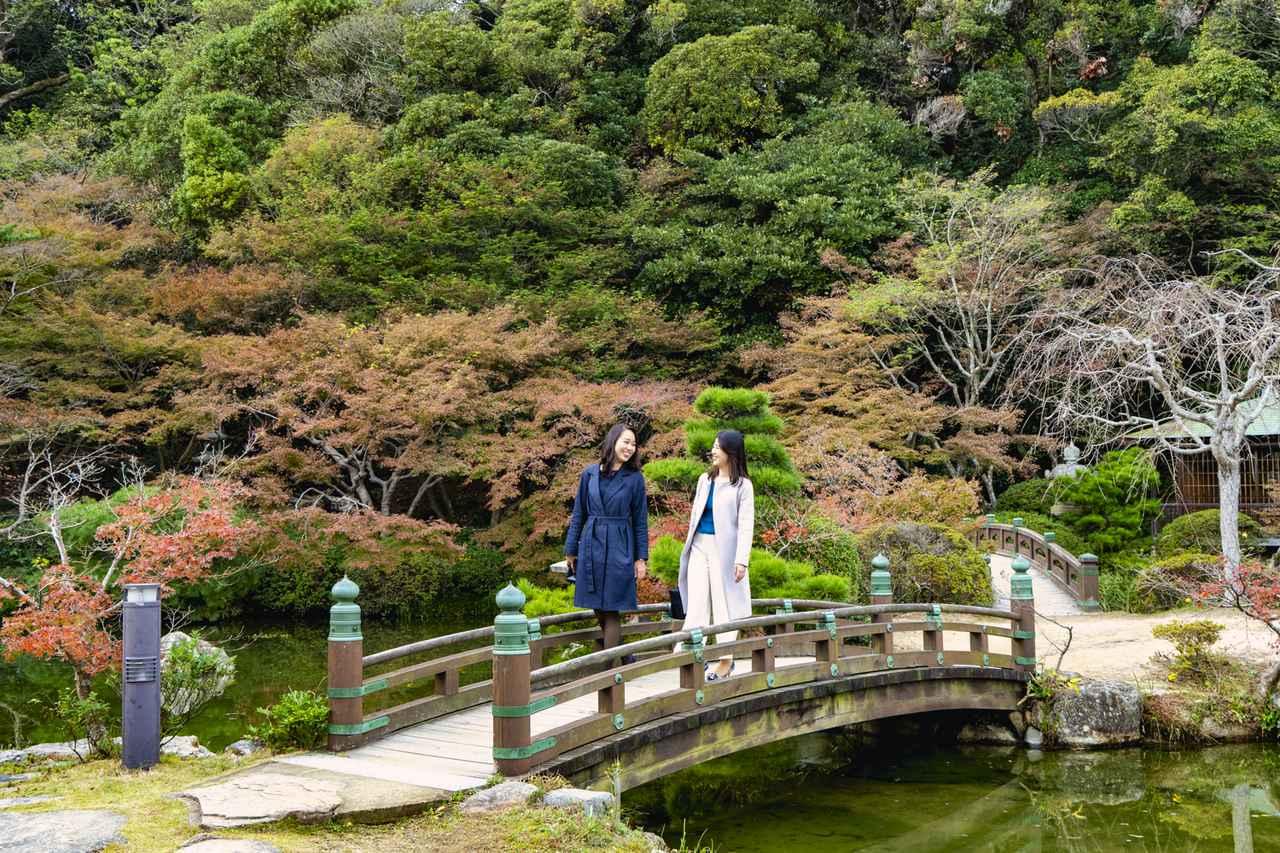 画像1: 【長府庭園】庭園観賞と一緒に山口グルメもたっぷり満喫